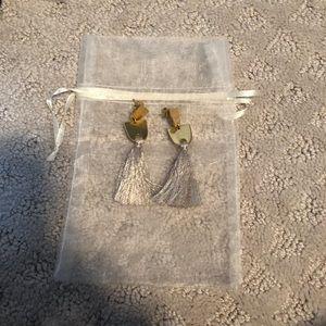 Madewell Tassel earrings WORN ONCE